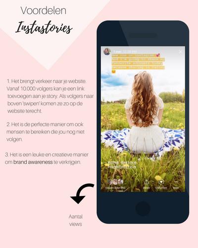Instagram Stories hoe werkt het