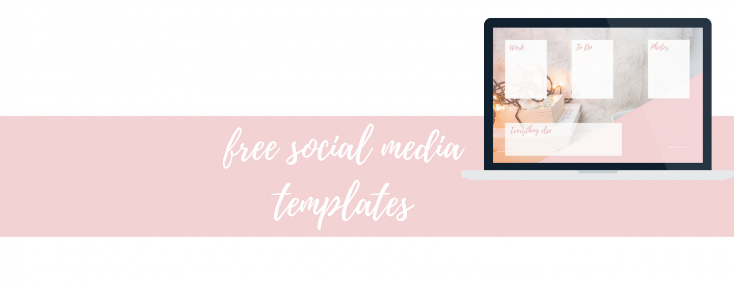 Free social media & desktop templates to boost your business