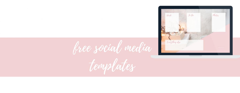 Social media & desktop templates om je bedrijf naar een hoger niveau te tillen