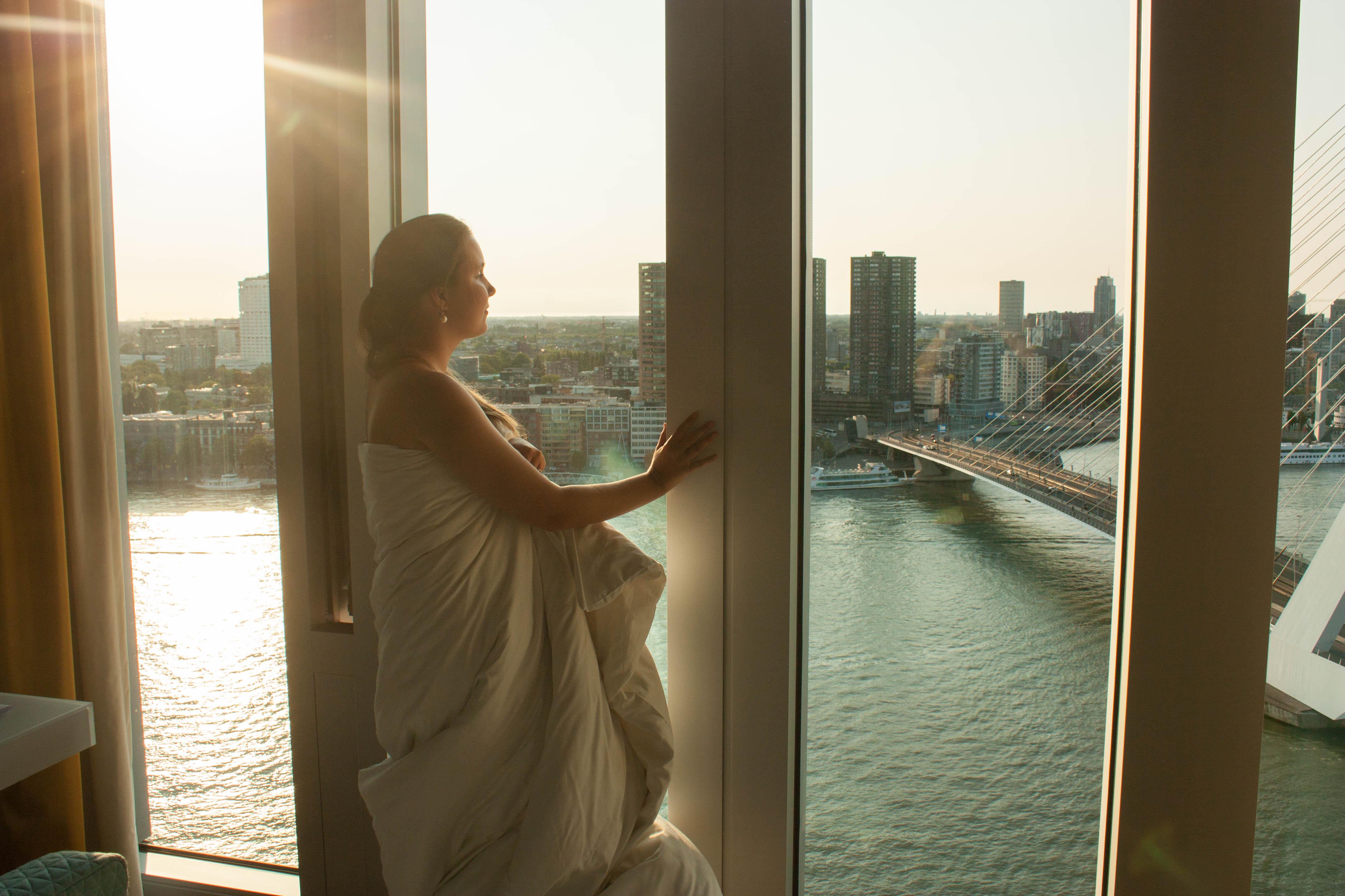 Nhow Rotterdam view