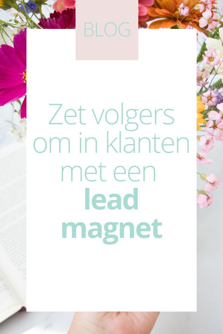 BLOG_ zet volgers om in klanten met een lead magnet