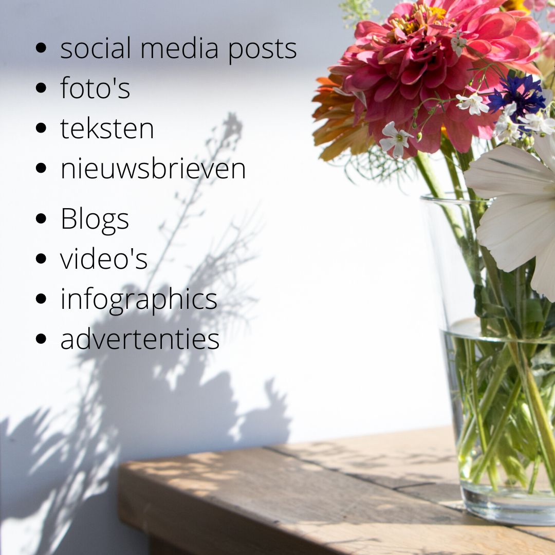 Soorten content - content marketing
