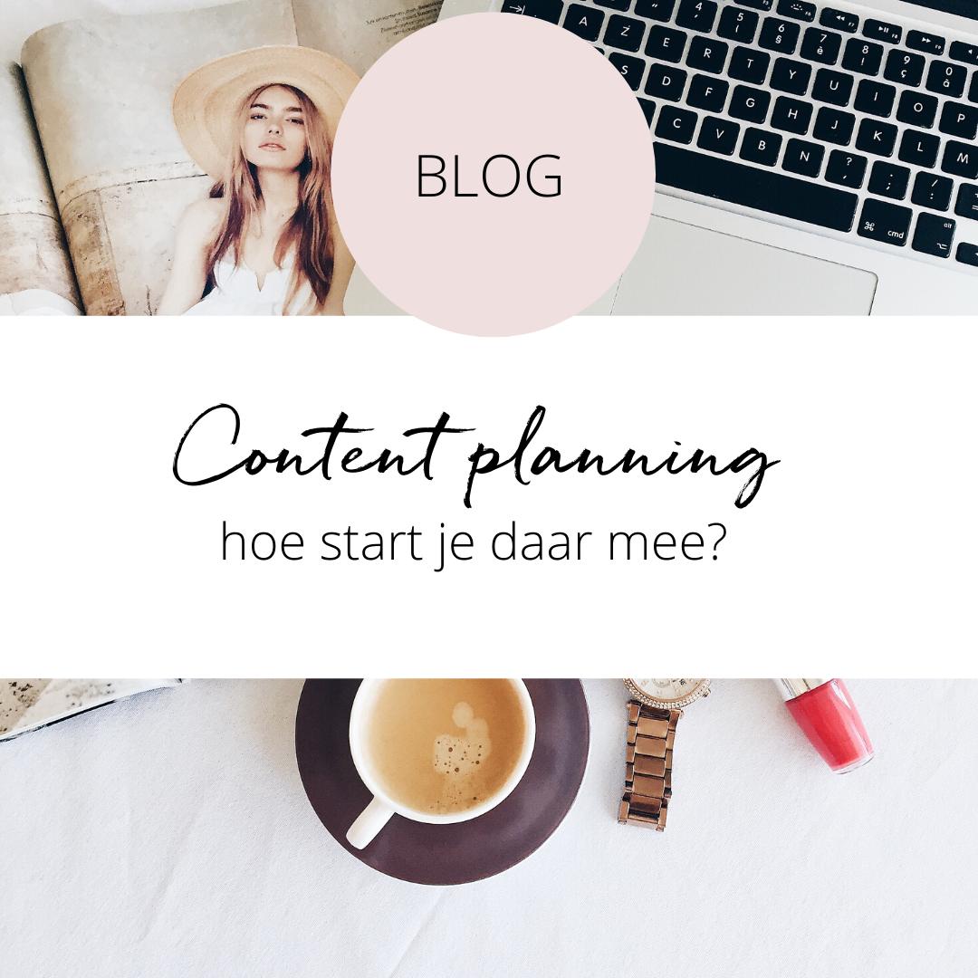 Content planning: tips en template voor social media