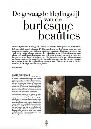 Article Burlesque