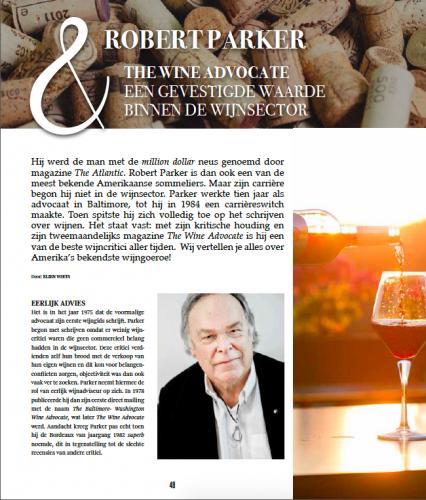 Robert Parker - wine journalist